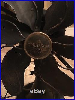 Emerson Antique Fan Model 71666