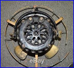 GE General Electric 12 Brass Blade Cage FAN Pancake Motor Type A-K form D NR