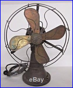 General Electric 5 Cent Coin-op Electric Fan C2171-7 Antique Old Surface Estate