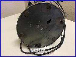 General Electric Fan Brass Blade 6 Series G Vintage GE AC / DC Motor Antique