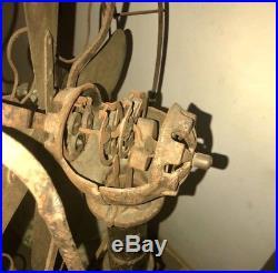 Lake Breeze Antique Hot Air Kerosene Stirling Engine Motor Pedestal Floor Fan