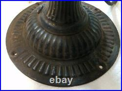 Large Early Antique Emerson 1120 Ribbed Base Brass Blade Electric Fan