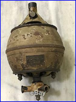 MUSEUM RARE 1910s F & C OSLER ANTIQUE DC ELECTRIC CAST IRON CEILING FAN WORKING