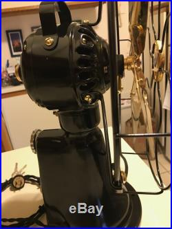 Museum Quality Fuly Restored Antique GE Electric Coin Op Operated Hotel Taxi Fan