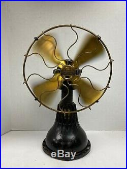 Origianl 1915 Lake Breeze Hot Air Stirling Engine Motor Fan Antique Hit and Miss