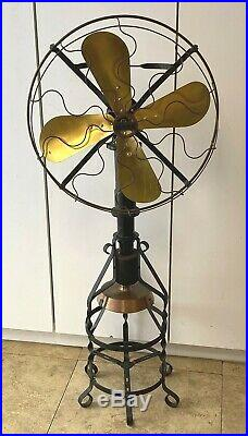 Origianl 1917 Lake Breeze Hot Air Stirling Engine Motor Fan Antique Hit and Miss