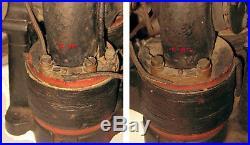 Pre-Patented c1890 CROCKER WHEELER 1/6th HP BiPolar Antique Electric Motor