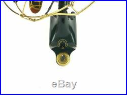 Pro Restored Rare GE Antique Brass Electric Wall Mounted Telephone Operators Fan