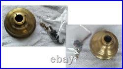 RARE 1982 HUNTER ORIGINAL GRAPELEAF CEILING FANS (SET OF 2) #22819 Antique Brass