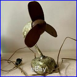 RARE ANTIQUE OLD VINTAGE Electric table fan 1950s USSR
