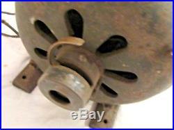 RARE Globe Electric Company Ceiling Fan Electric Motor Chicago Illinois Pancake