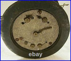 RARE ODD ORIGINAL ANTIQUE UNUSUAL ELECTRIC FAN With ORIGINAL BRASS CAGE & BLADES