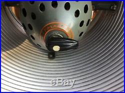 RARE VTG ANTIQUE 1940s VORNADO FAN Floor Pedestal Bullet Model 12P1 Old 3 Speed