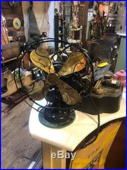 R&M Antique Brass Fan Blades Roberts & Myers