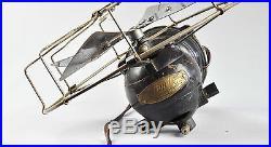 Rare 1920's or 1930's Frigid Vintage Electric Fan Ventilator. It works! Deco