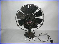 Rare Antique Electric Fan BERGMANN made in Germany see vidéo