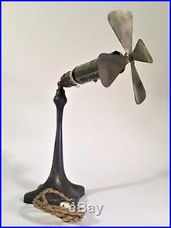 Rare Antique Electric Fan Universal