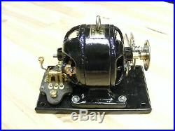 Rare Antique Electric Motor 1910 KNAPP LEADER With Forward & Reverse Switch