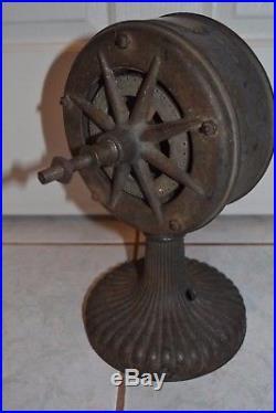 Rare Antique Fan Tesla Westinghouse Style 3854a For Restoration No Reserve