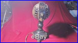 Rare Antique Jandus Ball Motor Electric Fan, Tabbed Foot, Patent May 12, 1903