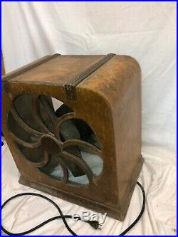 Rare Antique Liberty Fan with Working GE Motor
