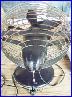 Roto beam Antique Electric Fan Retro vintage collectible works heavy duty