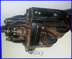 SUPER RARE! Early Antique Thomas A. Edison Electric Fan Motor