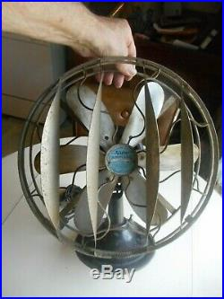 Scarce antique Victor Airplane Electric Fan. Antique Electric Fan