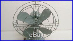 VTG Antique 12 GE General Electric Fan 2 speed OSCILLATING 84 CY60 A0.8 133744