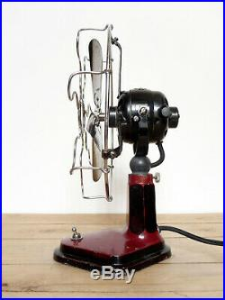 Ventilatore Marelli Diana Old antique electric fan design industrial loft 30s