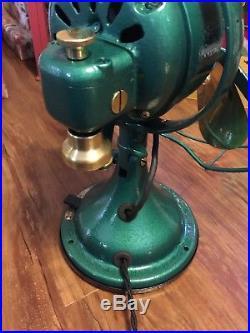 Vinfage/Antique GE 12 Brass Blade Fan