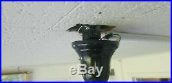 Vintage 1920's General Electric Ceiling Fan W Remote Albany Schenectady New York