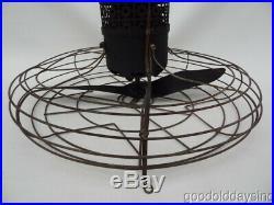 Vintage 1930's 2 Blade Propeller Ceiling Fan by Reynolds 3 Speed Antique Works