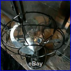 Vintage 1930's Antique Bullet Fan 55x164 Deco RARE FIND (RUNS GREAT) NICE