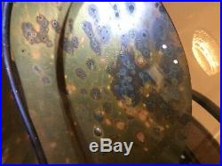 Vintage Antique Emerson 6 Brass Blade Fan 16 Model 73668 Works Rare