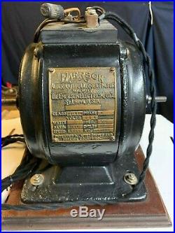 Vintage Antique Emerson Electric Motor