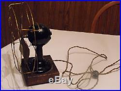 Vintage Antique Fort Wayne Electric Works Brass Blade Fan Pat. 1902 SUPER RARE