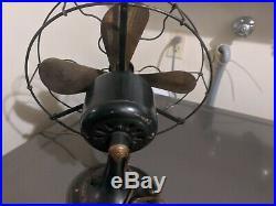 Vintage Antique General Electric WHIZ Fan Runs- Cat. # 236327