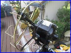 Vintage Fan Antique Fan Vintage Victor Fan Brass Blade Old Fan Electric Fan