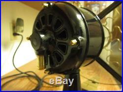 Vintage Fan Antique Fan Westinghouse Fan Brass Blade Fan Old Electric Fan