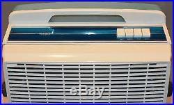 Vintage Window Fan Galaxy Blue 14x14 Box Antique Plastic Blue