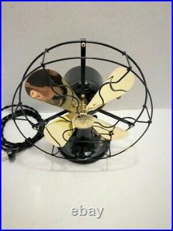 Vintage antique1920's 9 GE Whiz Electric Fan Custom Wire yoke Variable Speed