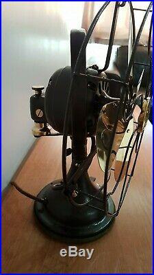 Vintage / antique art deco BTH (General Electric) oscillating desk fan