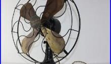 WESTERN ELECTRIC 4 Brass 16 Blade 3 Speed Fan Alternating Current WORKS Antique