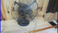 Western Electric Co. W-134034 Cage Fan Brass cage Antique/Vintage